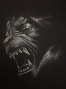 American Werewolf - Charcoal