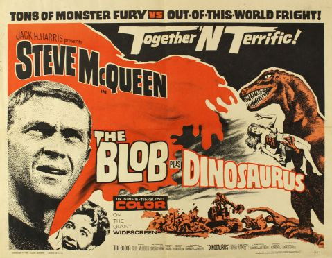 blob and dinosaurus