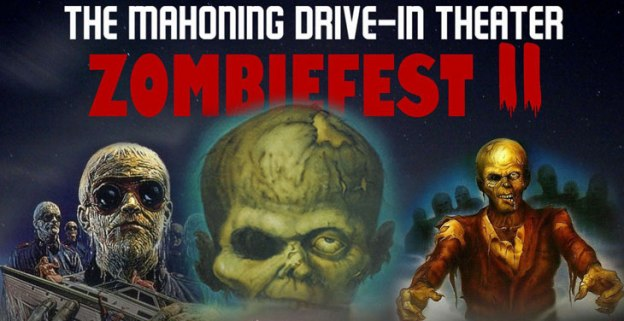 Mahoning Drivein zombiefest 2