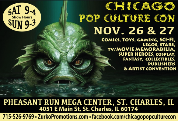 Chicago Pop Culture Convention ad