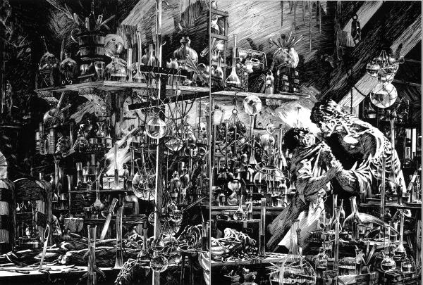 Wrightson Frankenstein
