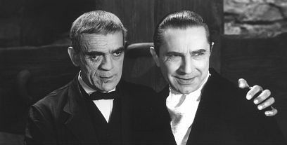 Karloff and Lugosi 5