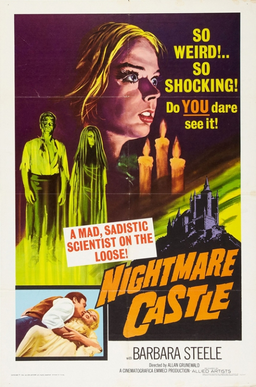 nighmare castle poster
