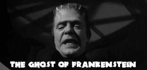 Ghost of Frankenstein Banner