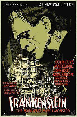 Frankenstein Mondo Poster