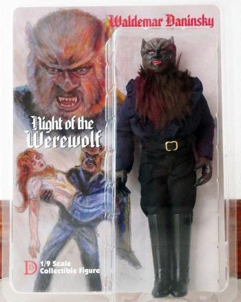 Naschy figure - Night of the Werewolf