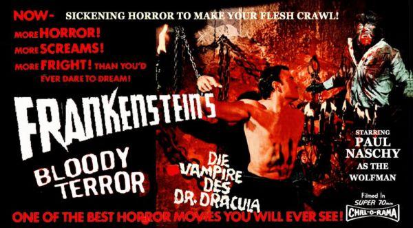 Frankenstein's Bloody Terror 3D