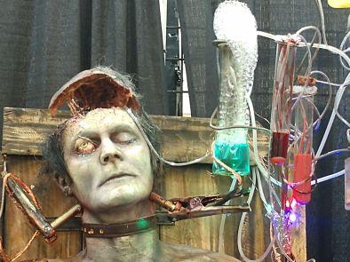 Frankenstein display 2