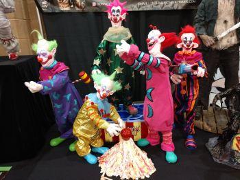Killer Klowns Display
