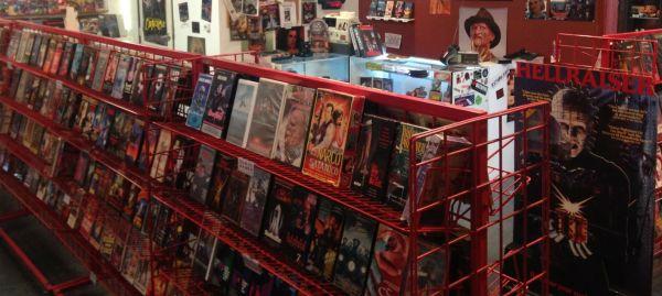 Video store aisle 1