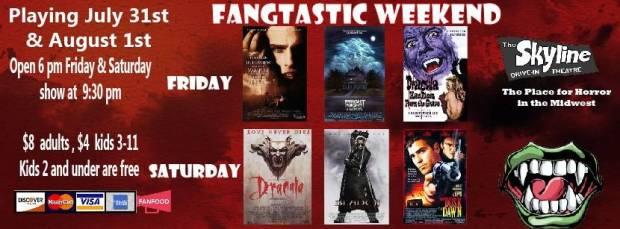 Skyline Fangtastic Weekend
